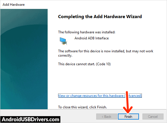 Android ADB Interface Driver Installed - TWZ Tab Play 123 USB Drivers