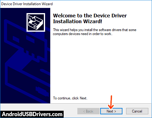 Install Google Android USB Driver WinUSB - Vertex Impress In Touch 3G USB Drivers
