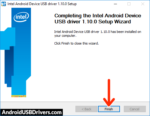 Intel USB Android Driver Installed - Alldocube i9 USB Drivers