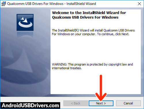 Qualcomm Android Drivers setup - Okwu Pi Plus USB Drivers